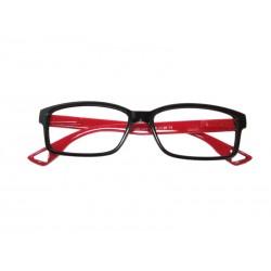 Premontada Flex Acetato Negro-Rojo