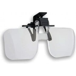 Lupa clip para gafa