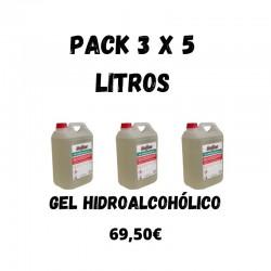 Gel Hidroalcoholico 3x5L