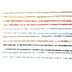 Cadena de cuentas colores (6 uds)